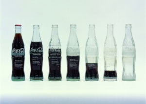 Cildo Meireles. Insertions into Ideological Circuits – Coca-Cola Project, 1970. © Cildo Meireles. Tate, London.
